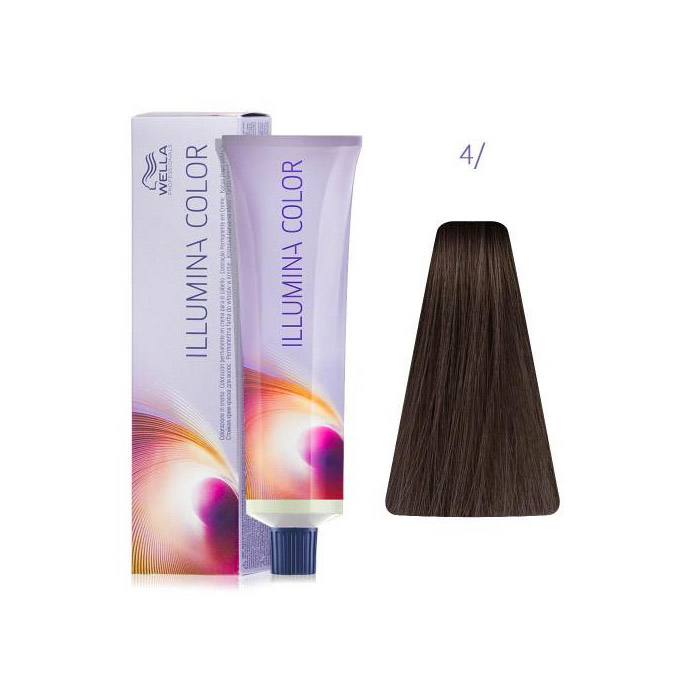 Wella Illumina Color 4/ Коричневый