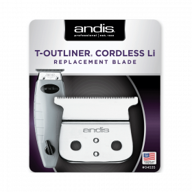 andis cordless t-outliner li replacement t-blade
