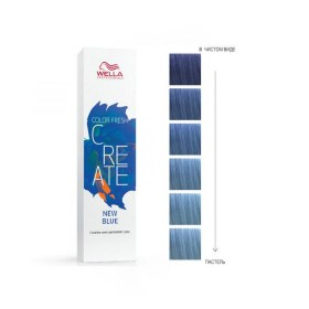 Wella Color Fresh Create, Ночной синий